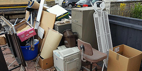 commercial business waste rubbish clearance