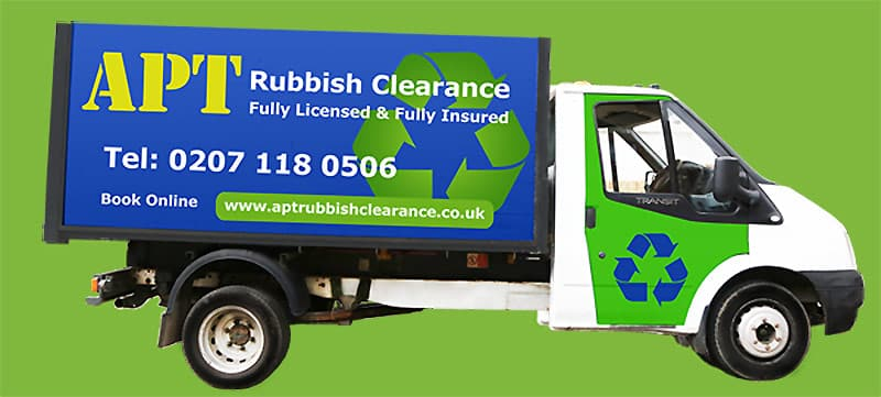apt rubbish clearance Coldharbour london
